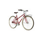 Ortler Bricktown - Bicicleta urbana mujer - rojo clásico
